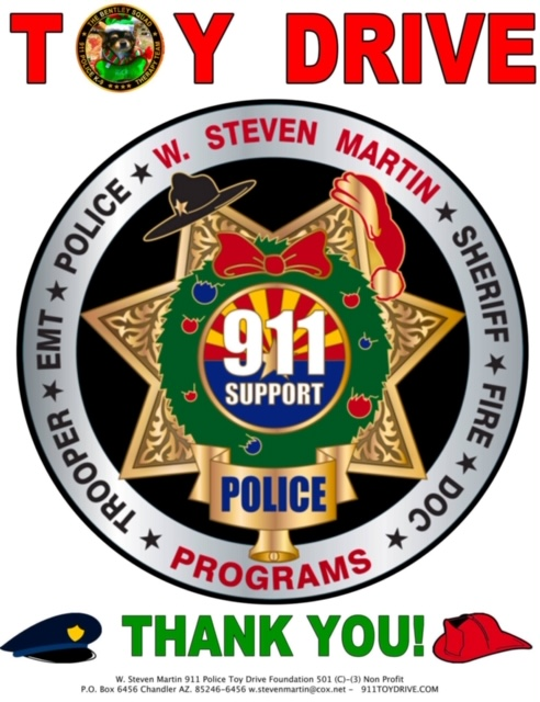 2019 Toy Drive Badge